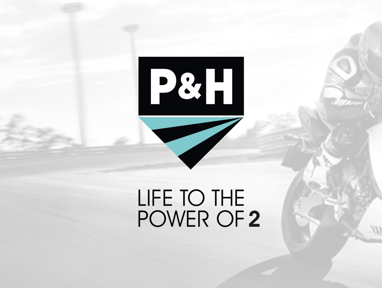 p&h motorcycles logo design