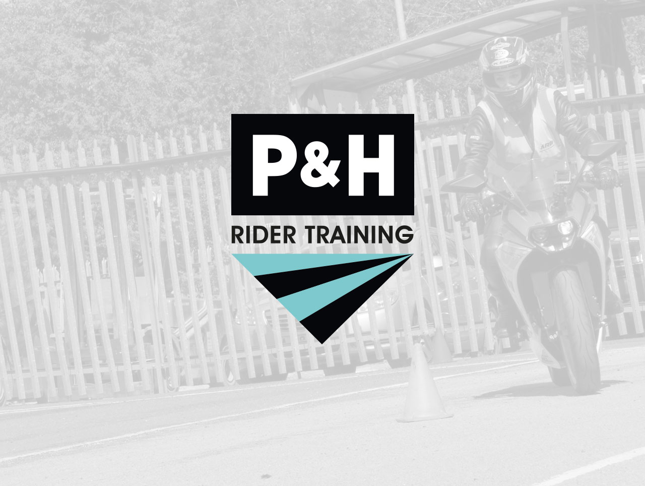 rider training leaflet design