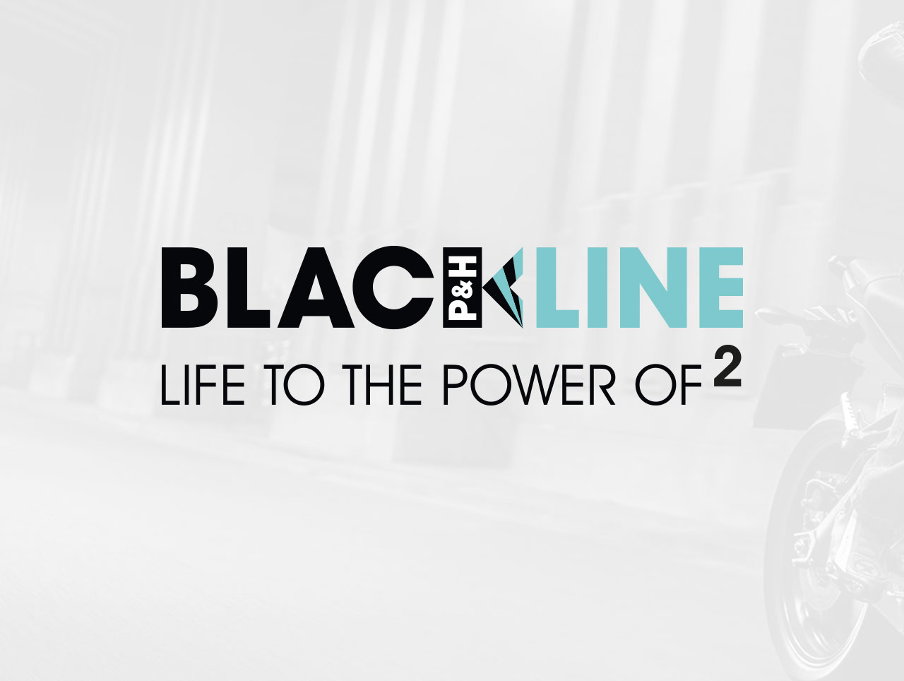 blackline motorcycles clothing brand design